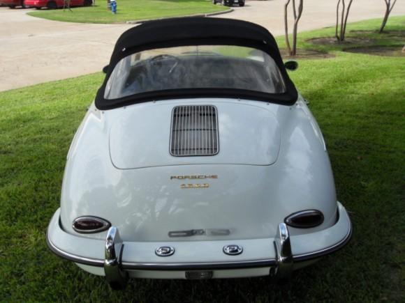 1960 Porsche 356B Cabriolet
